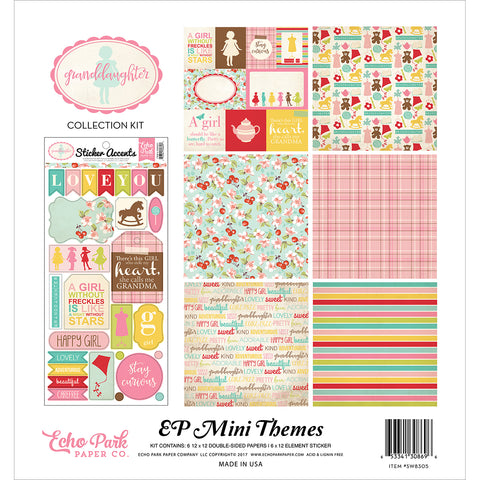 "Echo Park Collection Kit 12""X12""-Granddaughter"