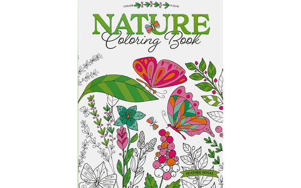 Leisure Arts Nature Coloring Book