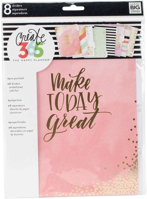 Create 365 Planner Dividers-Lovely Pastels