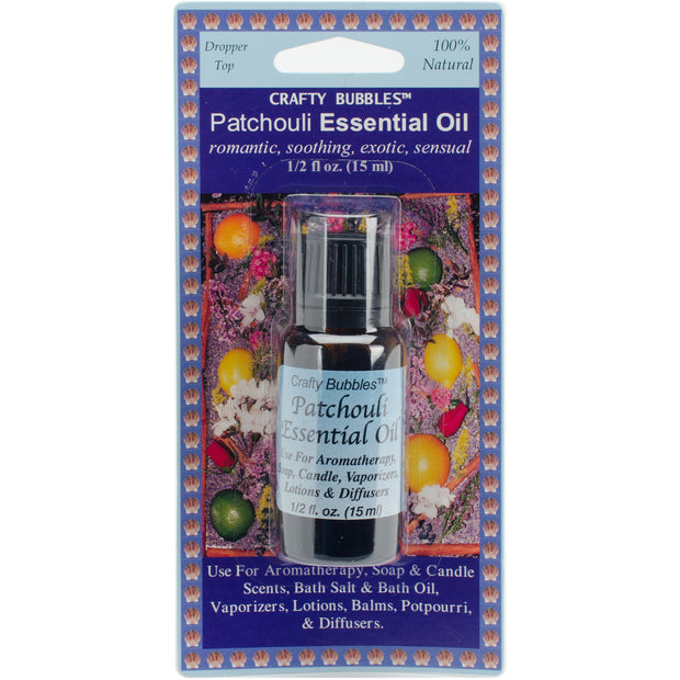Essential Oil .5oz-Patchouli