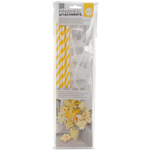 We R Memory Keepers Pinwheel Attachments-Lemon