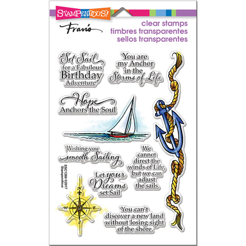Stampendous Perfectly Clear Stamps -Nautical Anchor