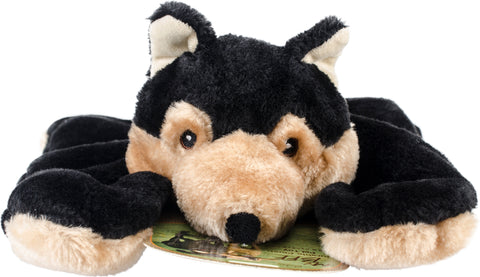Nandog My BFF Jumbo Plush Toy-Black Wolf