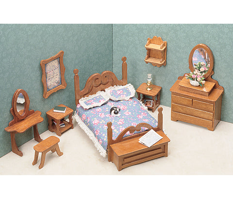 Dollhouse Furniture Kit-Bedroom