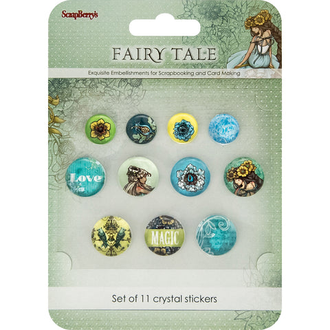 ScrapBerry's Fairy Tale Crystal Stickers-11/Pkg