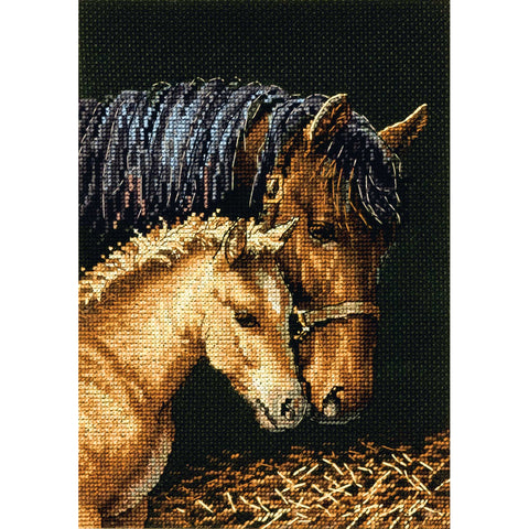 "Dimensions Gold Petite Counted Cross Stitch Kit 5""X7""-Gentle Touch (18 Count)"