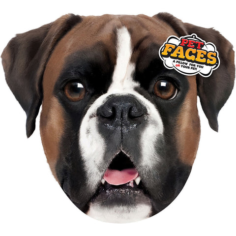 Pet Face Pillows-Boxer