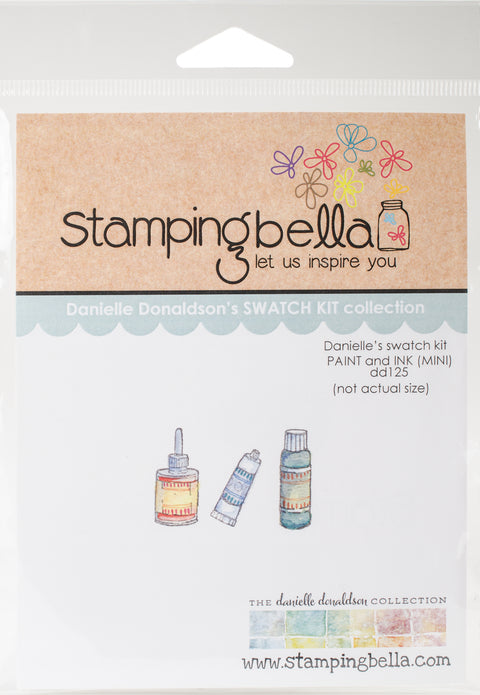 Stamping Bella Cling Stamps-Mini Paint & Ink