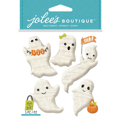 Jolee's Boutique Dimensional Stickers-Gauze Ghosts