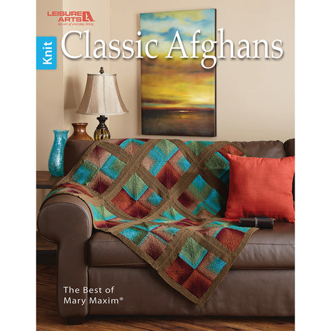 Leisure Arts-Classic Afghans