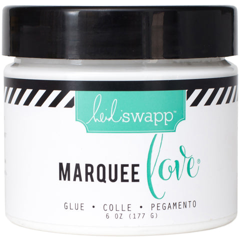 Heidi Swapp Marquee Love Glue 6 Ounces/Jar-