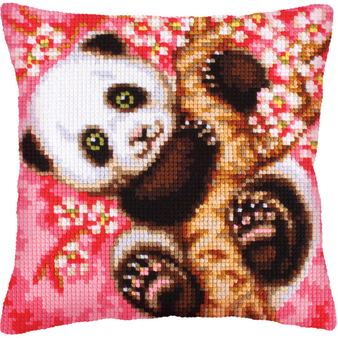 Collection D'Art Stamped Needlepoint Cushion Kit 40X40cm-Hooray! It's Spring