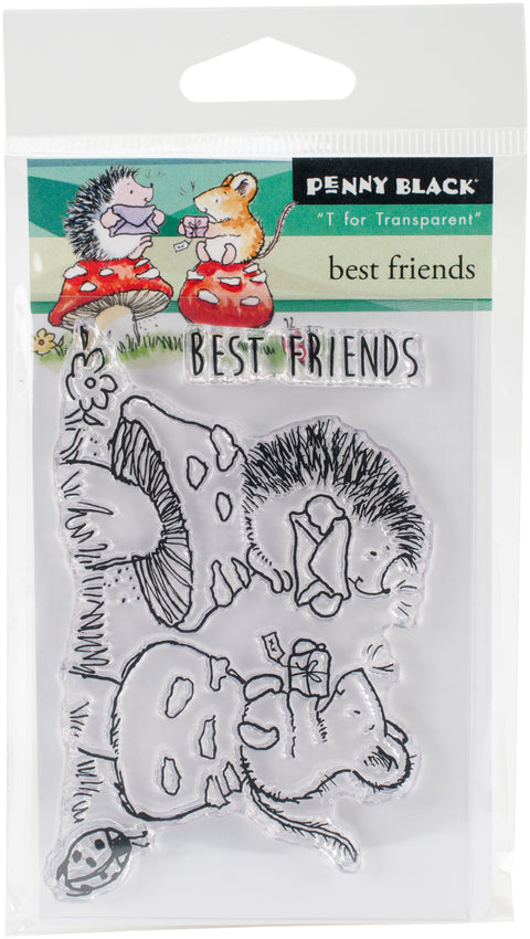 Penny Black Clear Stamps-Best Friends