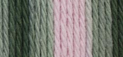 Lily Sugar'n Cream Yarn - Ombres Super Size-Pink Camo