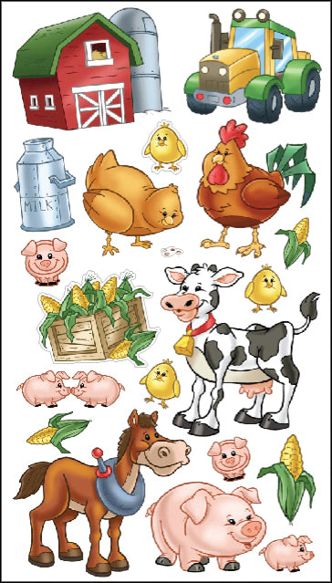 Sticko Stickers-Farm Friends