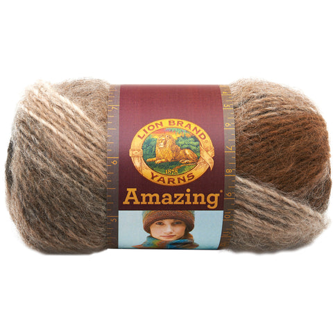 Lion Brand Amazing Yarn-Cobblestone