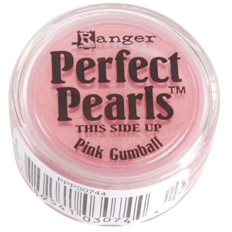 Ranger Perfect Pearls Pigment Powder .25oz-Pink Gumball