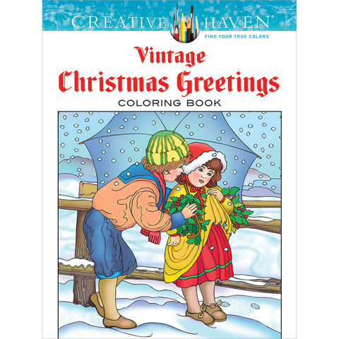 Dover Publications-Creative Haven: Vintage Christmas