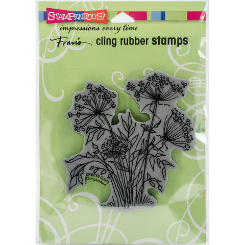 Stampendous Cling Stamp -Queen Annes Lace
