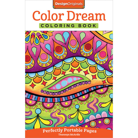 Design Originals-Color Dream Coloring Book