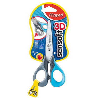 (12 EA) 5IN SENSOFT SCISSORS LEFT