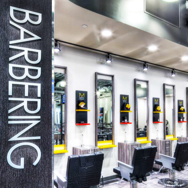 KEY AREA SIGNS - BARBERING