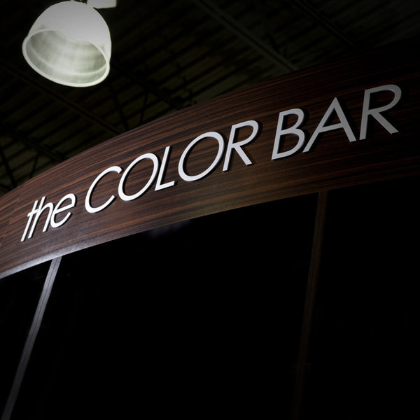 KEY AREA SIGNS - the COLOR BAR