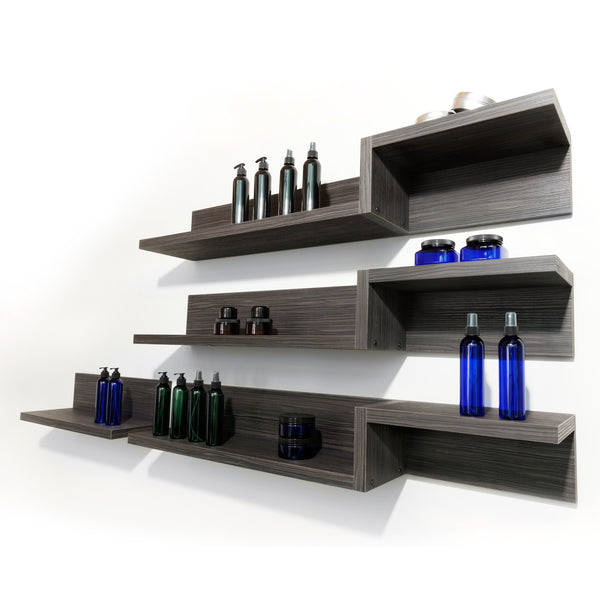 Use Juxtapose Extend along with any combination of Juxtapose shelving to grow as you go.