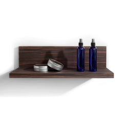 Shelf extension for your retail and merchandising areas of your salon.  Shown in Jurassic Ebony.