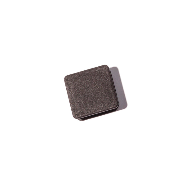 "Replacement tube insert cap for styling chairs.  1 1/4"" square, black."