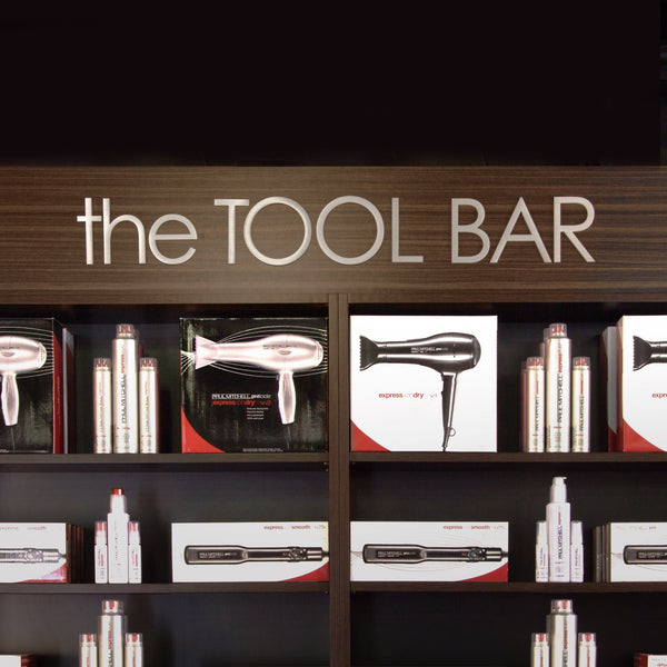 KEY AREA SIGNS - the TOOL BAR