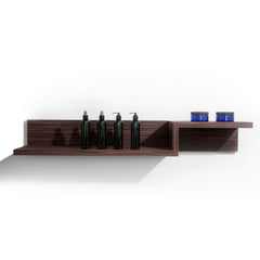 Create your own wall retail, merchandising and display areas. Shelves are laminate clad & wood construction.