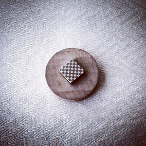 """Checkmate"" Magnetic Tie Clip / Pin"