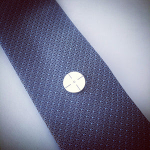 """On Target"" Magnetic Tie Clip / Pin"