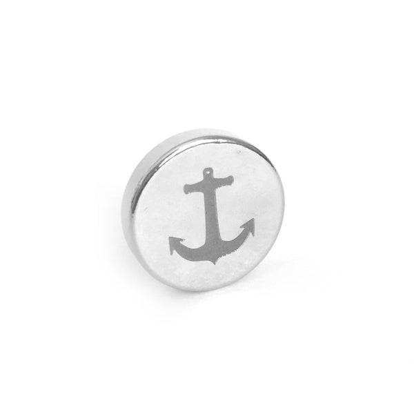 """The Nautical"" Anchor Magnetic Tie Clip / Pin"