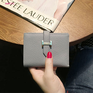 Designer wallets famous brand women wallet hasp fashion leather purse