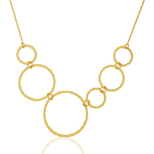 Fashion Chain Necklace 18k Gold Plated Designer Brass