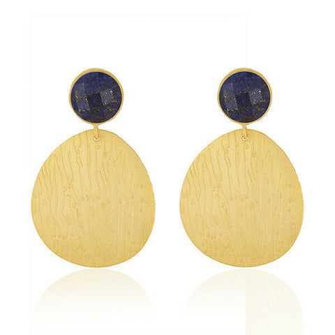Image of Many Variation Handmade Designer Gold Plated Brass Fashion Earrings