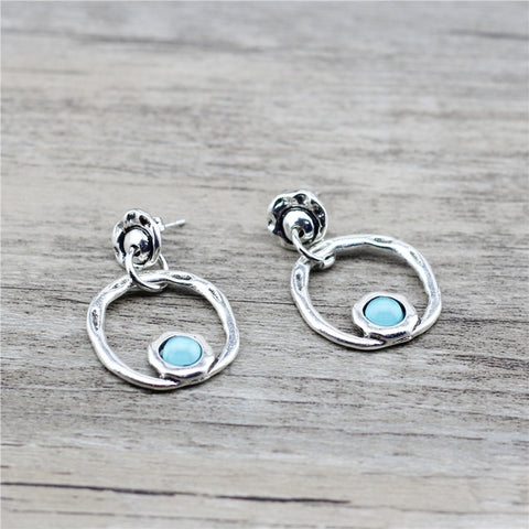 Anslow Designer Round Shape Charms Earrings