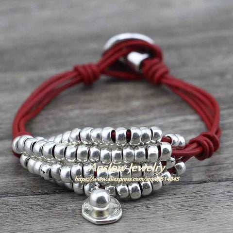 Image of Anslow Beaded Strands Wrap Bracelet