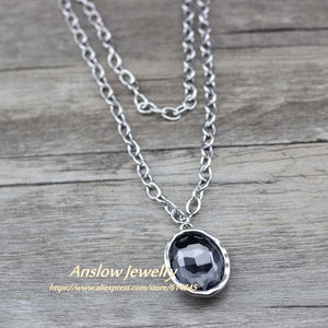Anslow New Design 2 Layers  Necklace
