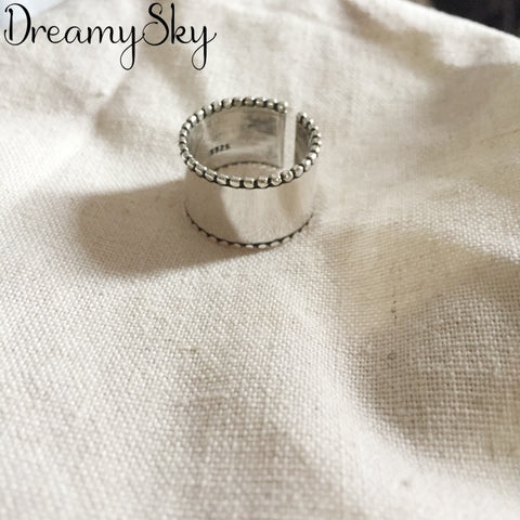 Image of 925 Sterling Silver Antique Adjustable  Ring