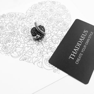 Pendant Black Heart Snake,2019 Brand Fashion Vintage Jewelry 925 Sterling Silver Thomas Bijoux Accessories Gift For Ts Woman|f pendant|heart pendantblack pendant