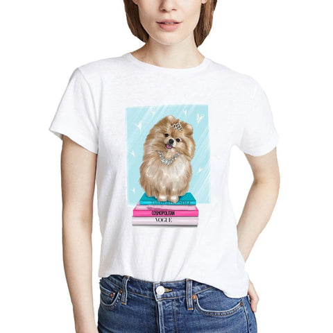 Fashion Graphic Print Women's T shirt