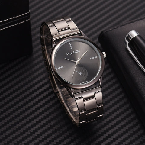 Image of Women Watches Simple Rose Gold Watch