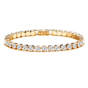 Luxury Crystal Bracelet For Women Wedding Gift
