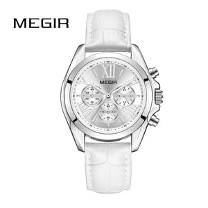 White Women Watches Metal Strap Bracelet Quartz watch