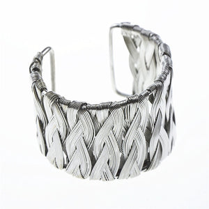 Fashion Gold/Silver Cuff Bracelets & Bangles For Women