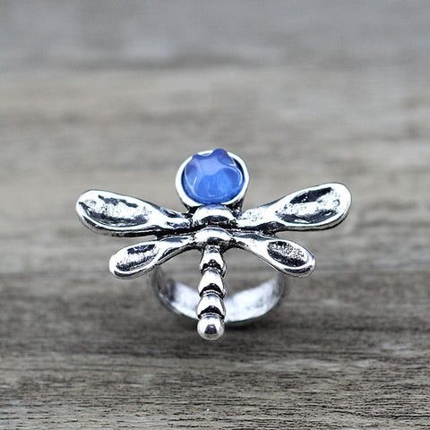 Image of Anslow Dragonfly Resin Finger Ring
