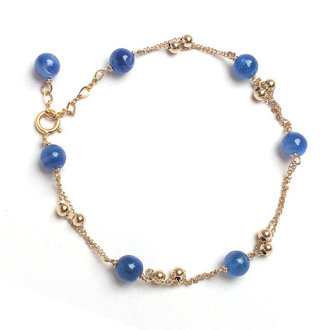 14Kgold Filled  Pearl Bracelets For Women